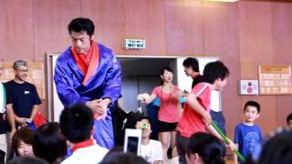 ツールドジャパン三宅島大会 アントキの猪木入場シーン。