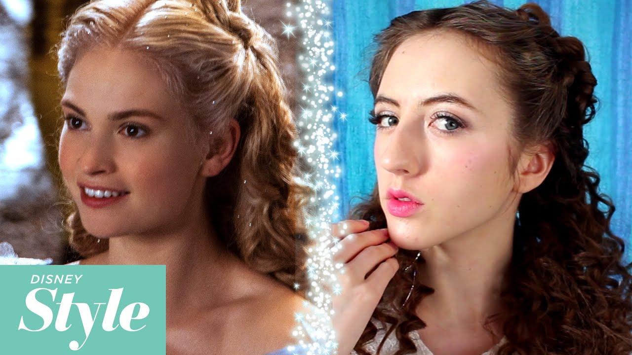 cinderella tinsel hair transformation