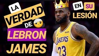 LEBRON James nunca debió VOLVER a jugar 😱 Escándalo en LAKERS por su lesión | NBA