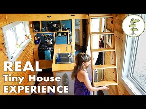 Woman Spends 3 Years Living in a Modern, Off Grid Tiny House