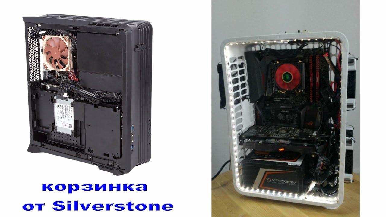 SilverStone Raven RVZ01-E — теперь с полноценным БП