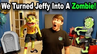 We Turned Jeffy Into A ZOMBIE!!! *BTS*