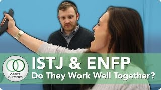 istj and enfp personality types in the workplace