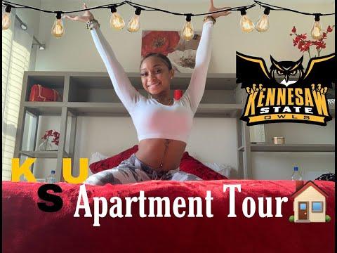 Freshman Apartment Tour!!! KSU: Stadium Village