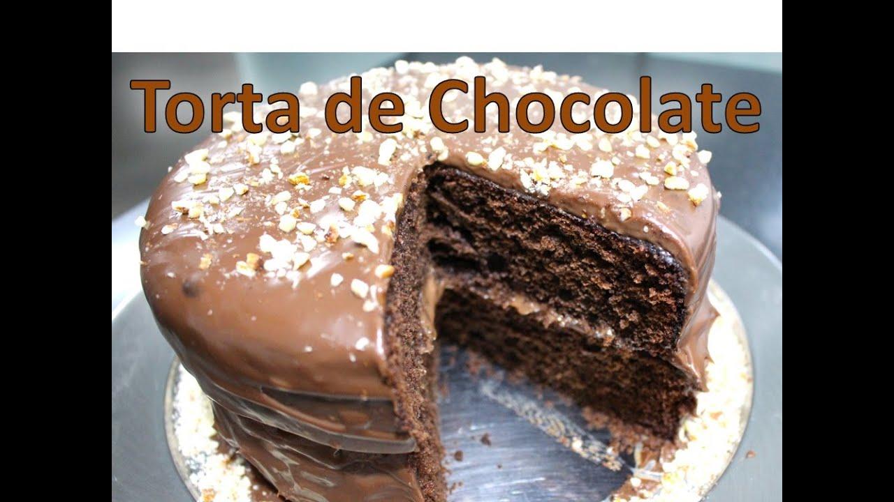 como se prepara torta de chocolate