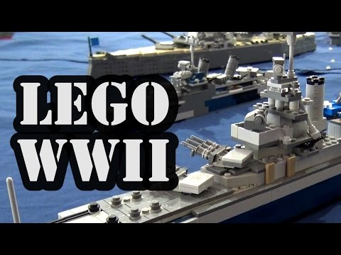 Lego Wwii Navy Battle Japan America Youtube