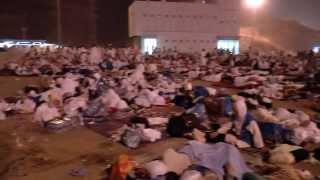 Muzdalifah - Arriving in Muzdalifah