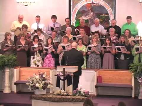 """4-5-09 Easter Cantata - """"Written in Red"""""""