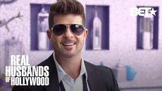 Robin Thicke Drops A Mixtape for Kevin Hart | Real Husbands of Hollywood