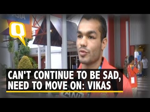 Vikas Krishan Forced to Pull Out of Asian Games S/F Bout Due to Injury | The Quint