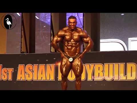 51st ASAIN BODYBUILDING  SUPER HEAVYWEIGHT GOLD MEDAL   SRi LANKA Mr. Lucian pusparaj