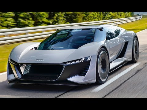 Audi Pb18 E Tron 2020 Amazing Electric Supercar Spaceship