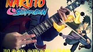 Naruto Shippuden OP 19 [Blood Circulator ] *Guitar Cover* +TAB…
