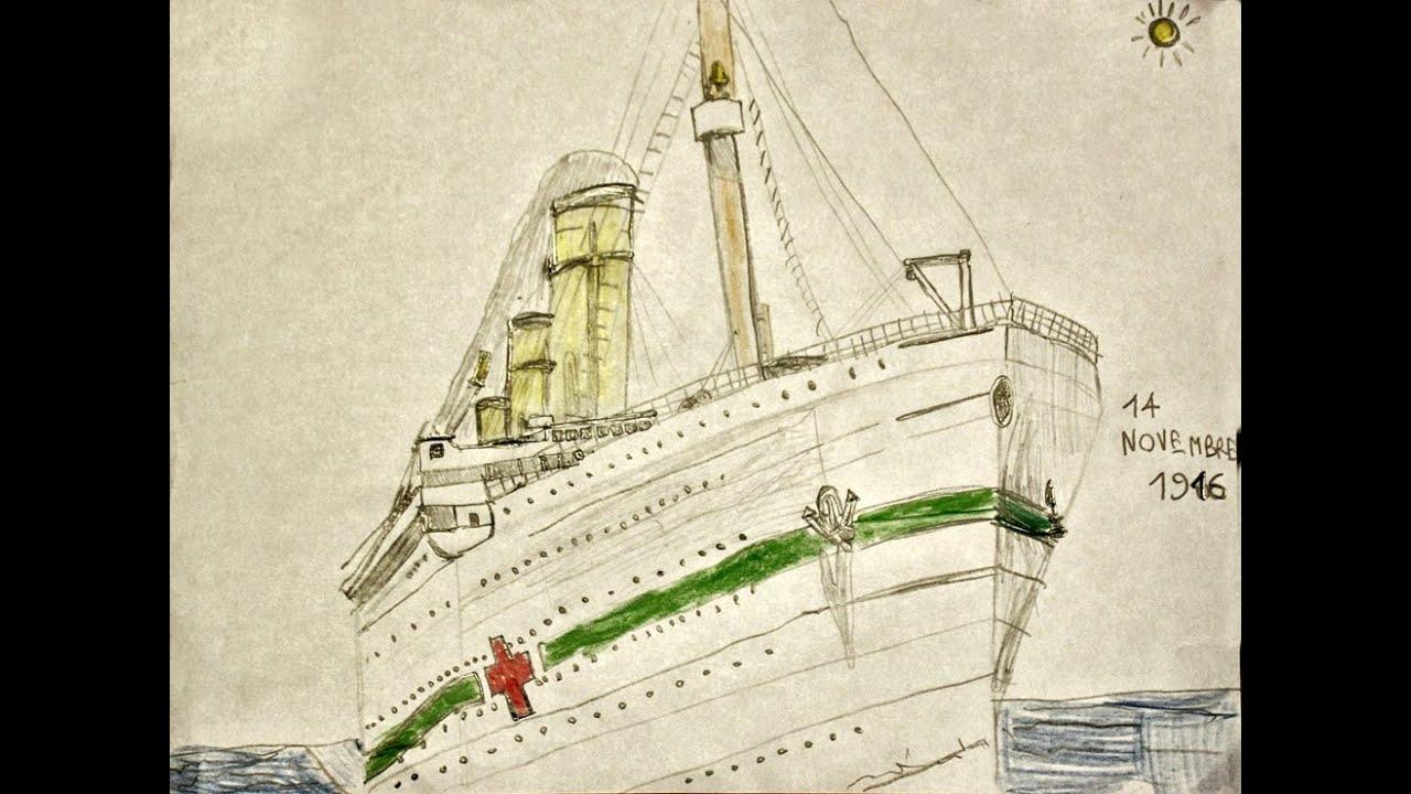 Scarica immagini Titanic Da Colorare - Disegni da colorare