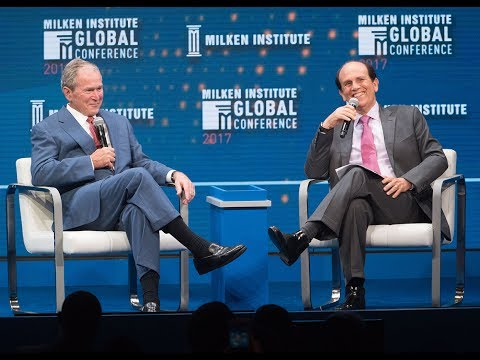 A Conversation with the 43rd President of the United States George W. Bush