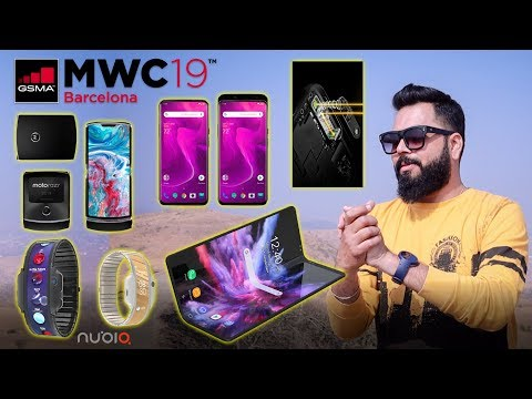 MWC 2019 ⚡ Here are 15+ Amazing Smartphones & Tech Expected To Launch