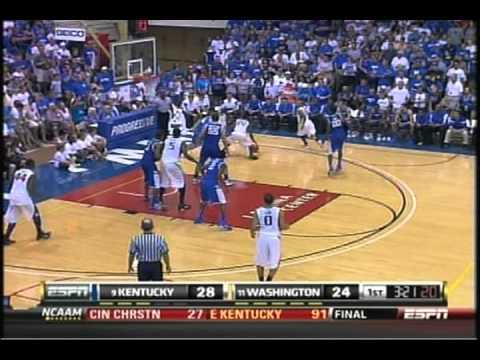 Washington Huskies vs. Kentucky Wildcats Basketball 2010