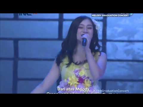 [HD] JKT48 - Ue Kara Melody @ Melody Graduation Concert (TV Ver.) 180513