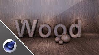 Make Material Wood Free Lightroom - Cinema 4D Tutorial