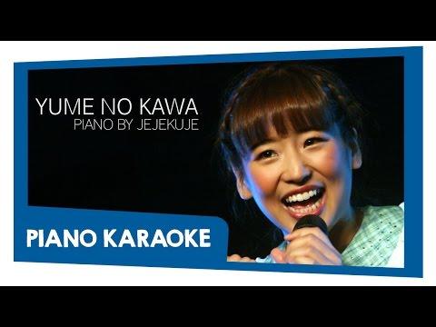 JKT48 - Yume No Kawa (Piano Karaoke) HD Lyrics on Screen