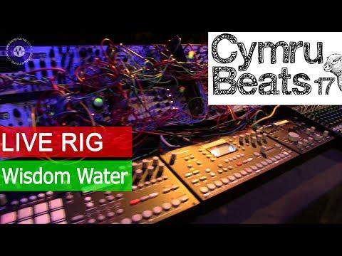 Wisdom Water Live Rig at Cymru Beats