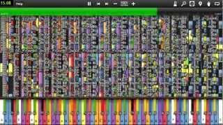 Repeat youtube video [Black MIDI] Synthesia - Night of (K)nights 1.1 Million
