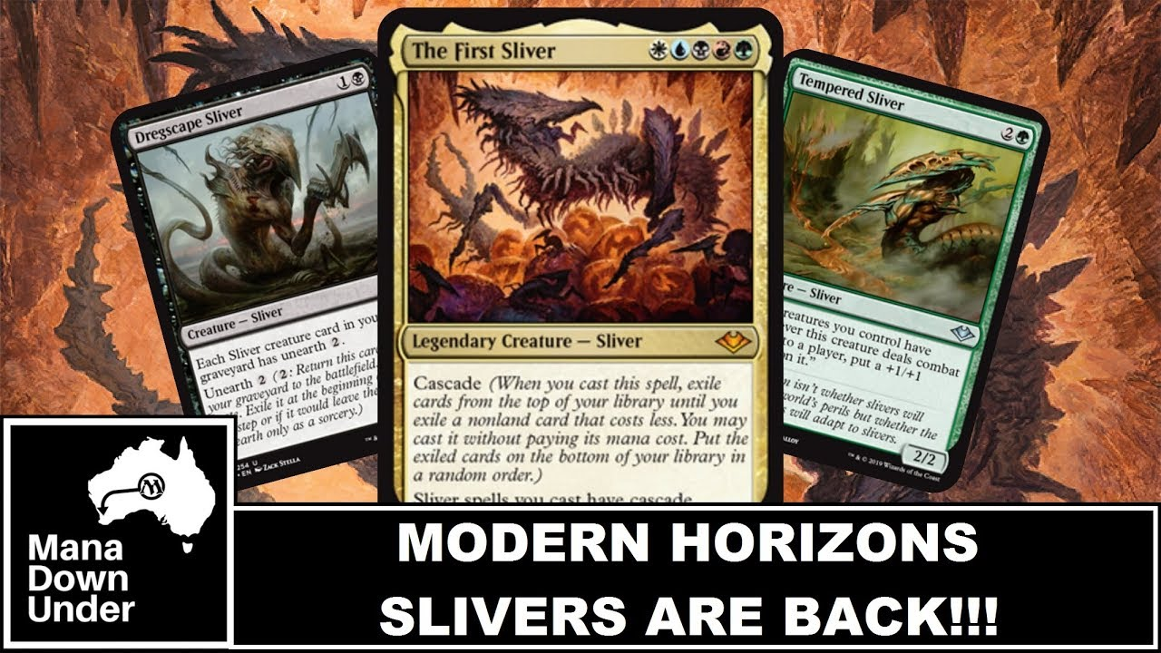 Modern Horizons Spoilers - SLIVERS ARE BACK!!! - The First Sliver  (MTG/Magic: The Gathering)