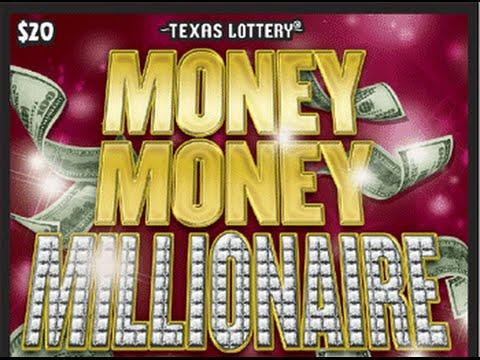 NICE WIN! $20 Money Money Millionaire #1 Texas Lotto