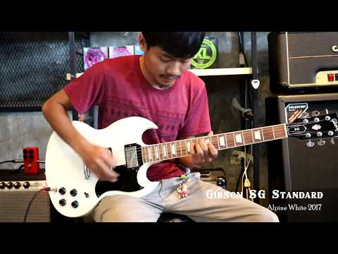 Review Gibson Sg Standard 2017 Alpine White By Fusion music