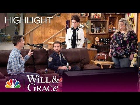 Will & Grace  Karen Drops a Truth Bomb Episode Highlight