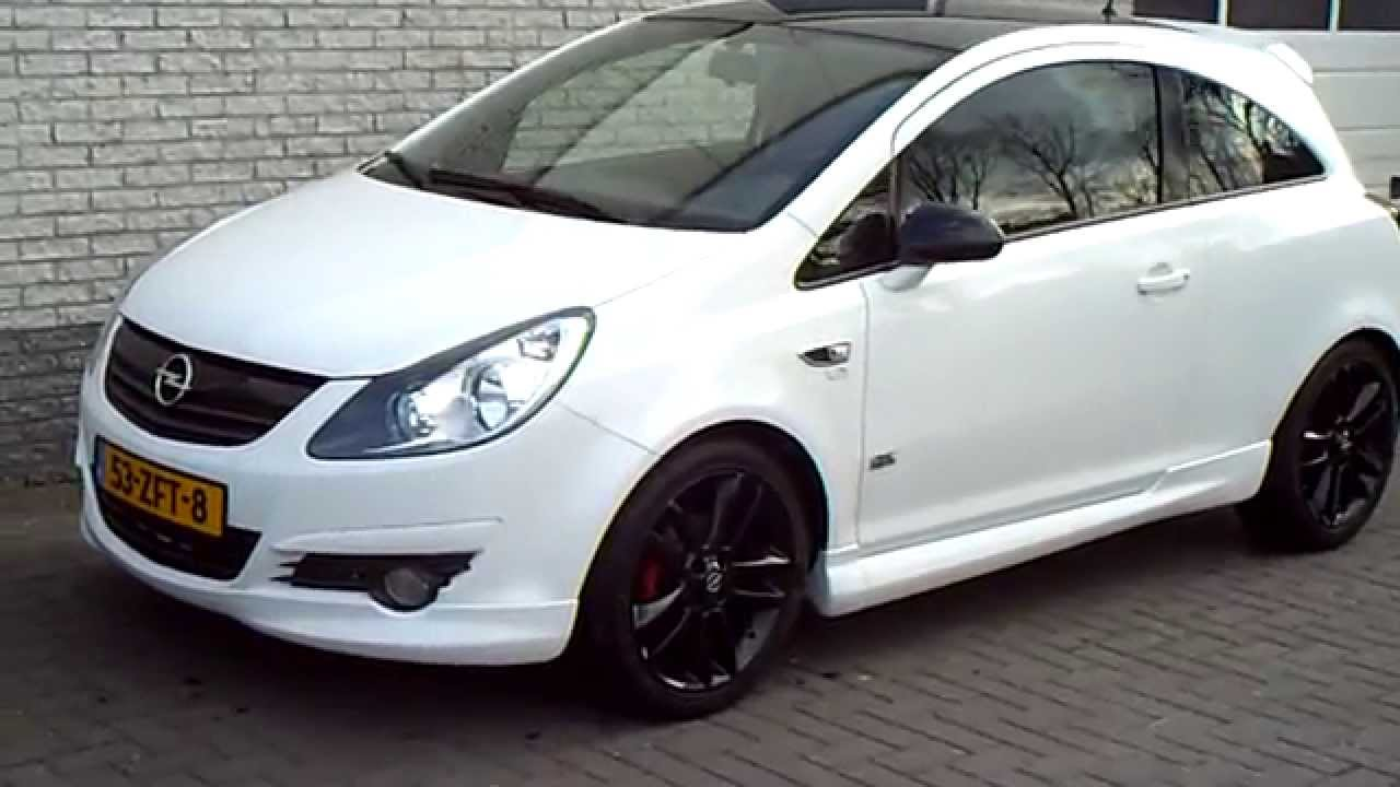 Opel Corsa 1 4 16v Limited Edition Black White Opc Line Henk