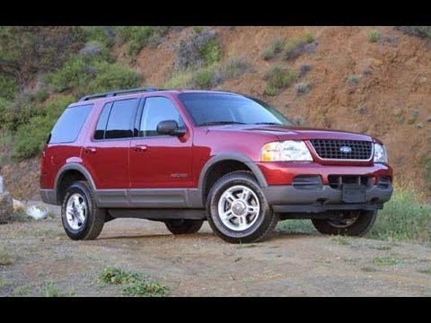 2002 Ford Explorer Start Up and Review 4.0 L V6