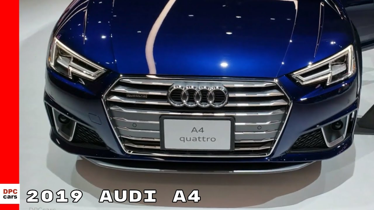 2019 Audi A4 Youtube