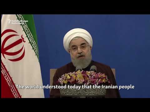 Rohani Says Iran Chose 'Engagement,' Rejected Extremism, After Election Win
