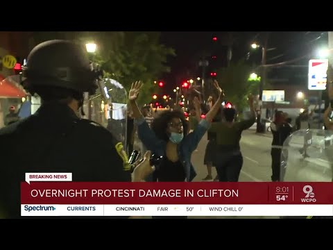 Cincinnati protests spread to University of Cincinnati area