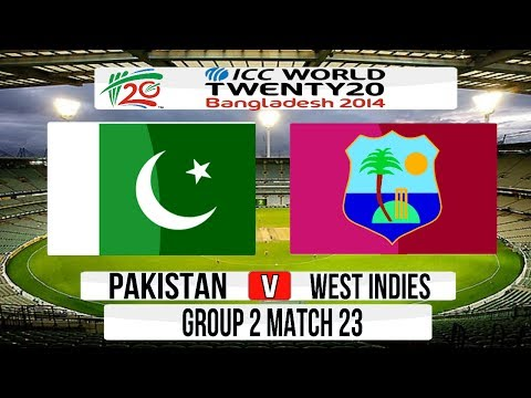 Cricket Game ICC T20 World Cup 2014 Super 8  Pakistan v West Indies Group 2 Match 23