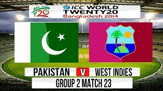 (Cricket Game) ICC T20 World Cup 2014 Super 8 - Pakistan v West Indies Group 2 Match 23