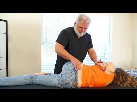 Chiropractic Adjustment For Low Back Pain & Leg Pain, Sciatica, Hip & Pelvis Chiro Demo
