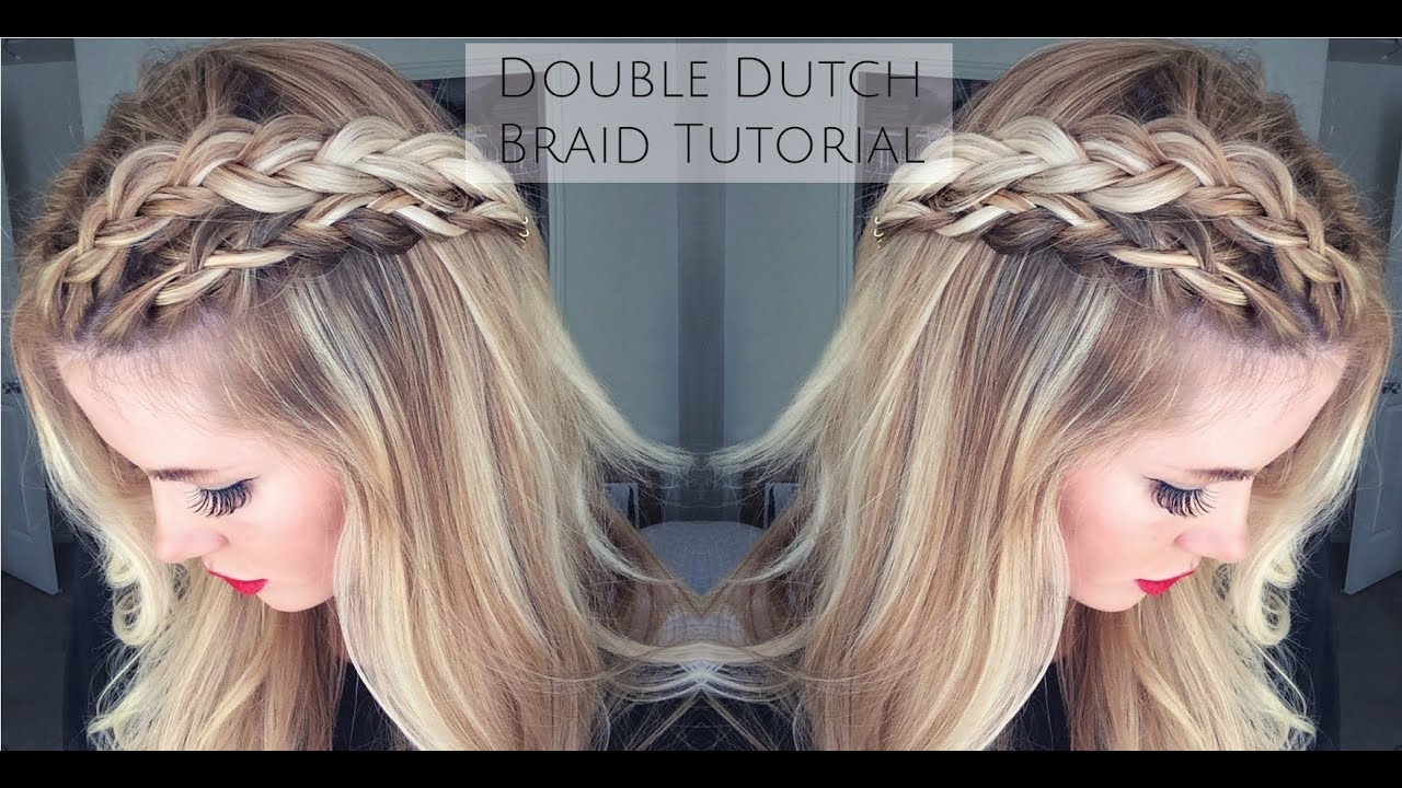 Tutorial Double Dutch Braid Tutorial Youtube