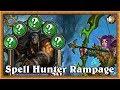 Hearthstone: Spell Hunter Rampage - No Minion Hunter