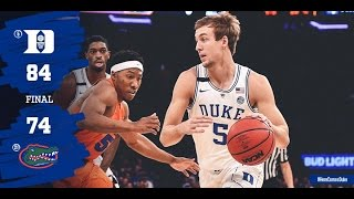 Top Plays: Duke 84, Florida 74 (12/6/16)