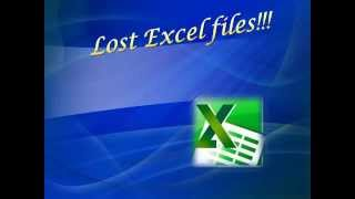 Recover Lost Excel Files