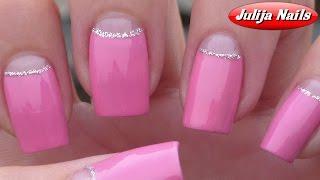 ▶ Лунный маникюр / Нежный дизайн ногтей