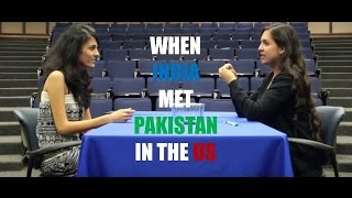 When India Met Pakistan in the US