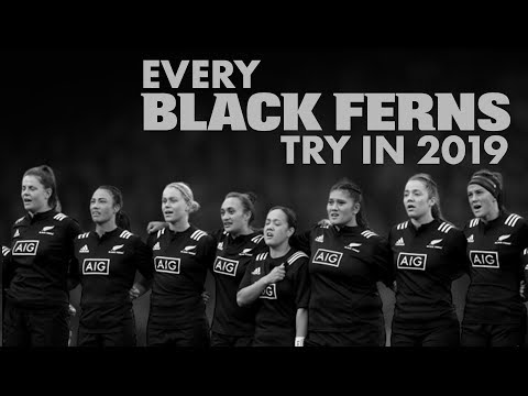 Every Black Ferns try in 2019