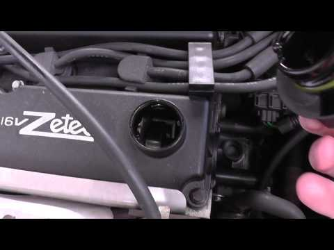 Ford Focus Zetec Engine Oil Top Up Location Video