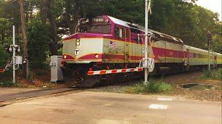 MBTA Geometry Train Tests The Attleboro/Middleboro Secondary