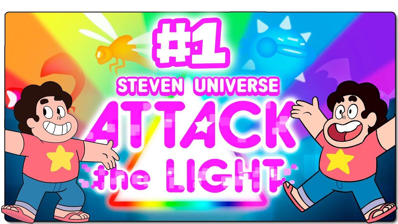 Steven Universe Ataque Al Prisma Attack The Light Español Capítulo 1 Stronger Than You Youtube