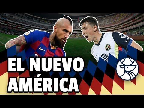 Volvió el América del 2013, ¿con Viñas de defensa y Vidal como fichaje estrella? | Nido del Guapi