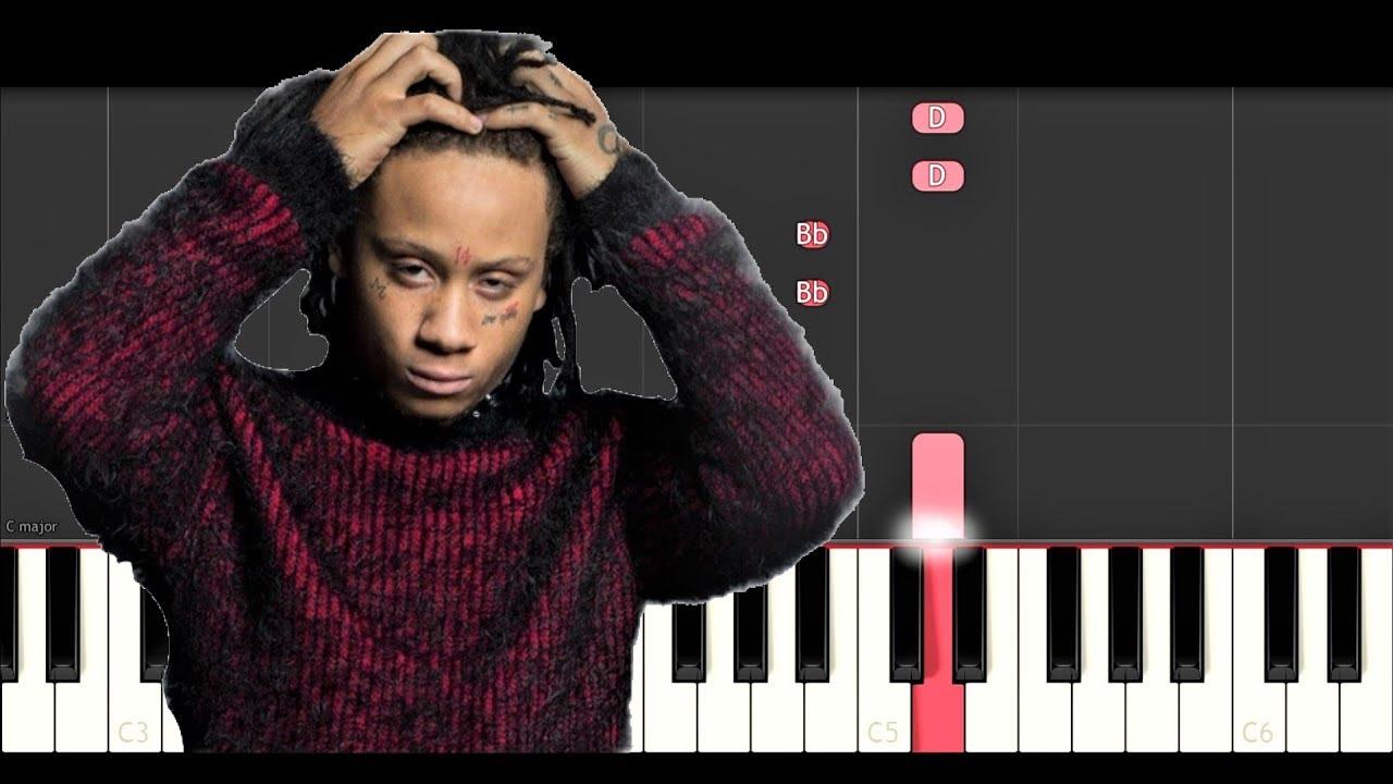 Trippe Redd - Taking A Walk (Piano Tutorial) - YouTube